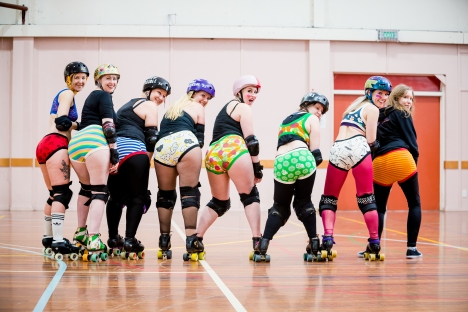 Thunderpants, Roller Derby.